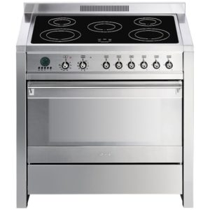 Smeg A1PYID-7 90cm Opera Pyrolytic Induction Range Cooker - STAINLESS STEEL