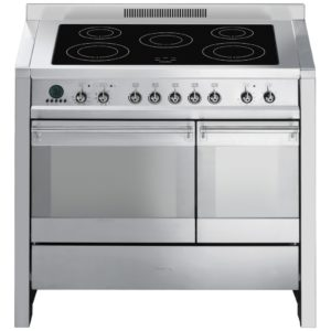 Smeg A2PYID-8 100cm Opera Pyrolytic Induction Range Cooker - STAINLESS STEEL