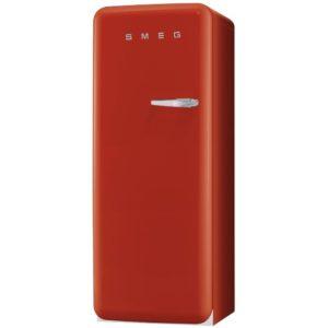 Smeg CVB20LR1 Red Retro Freezer Left Hand Hinge - RED