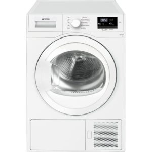 Smeg DHT71EUK-1 7kg Heat Pump Condenser Tumble Dryer - WHITE