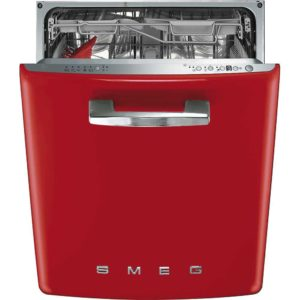 Smeg DI6FABRD Integrated Retro Style Dishwasher – RED