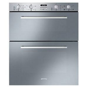 Smeg DUSF44X Built Under Cucina Double Oven - STAINLESS STEEL
