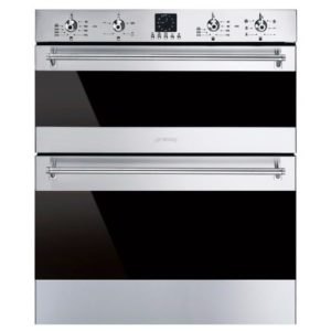 Smeg DUSF636X Built Under Classic Double Oven - STAINLESS STEEL