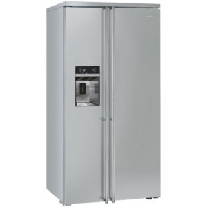 Smeg FA63X American Style Fridge Freezer With Ice & Water – STAINLESS STEEL