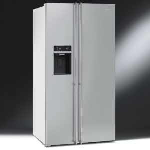 Smeg FA63XBI American Style Fridge Freezer With Ice & Water – STAINLESS STEEL