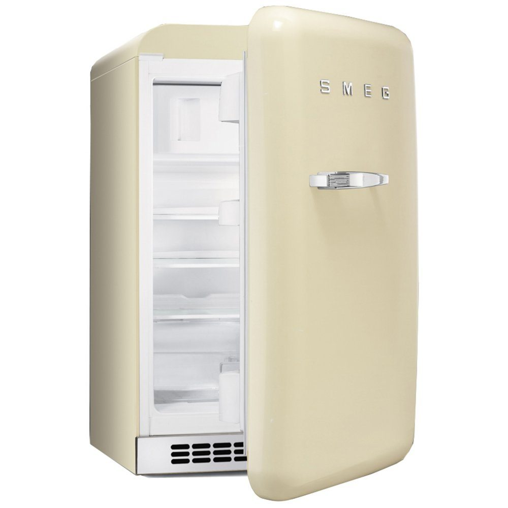 Vintage Fridge: Smeg FAB10RP 55cm Cream Retro Refrigerator Right Hand