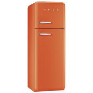 Smeg FAB30RFO 60cm Retro Fridge Freezer Right Hand Hinge – ORANGE