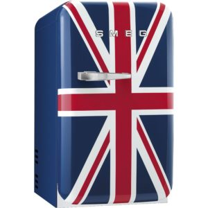 Smeg FAB5LUJ2 Union Jack Retro Mini Bar Fridge Left Hand Hinge – UNION JACK