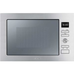 Smeg FMI025X 60cm Built In Microwave & Grill For Tall Housing