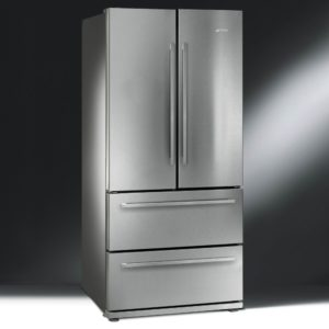 Smeg FQ55FX1 French Style Four Door Fridge Freezer Non Ice & Water – STAINLESS STEEL