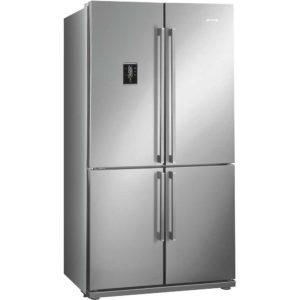 Smeg FQ55FXE1 French Style Four Door Fridge Freezer Non Ice & Water – STAINLESS STEEL
