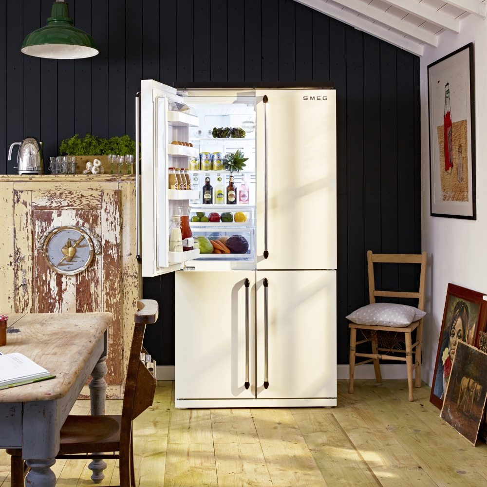 Smeg Fq960p Victoria French Style Four Door Fridge Freezer