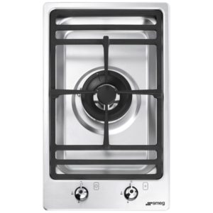 Smeg PGF31G-1 31cm Ultra Low Profile Modular Gas Hob – STAINLESS STEEL