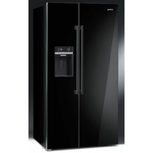 Smeg SBS63NED American Fridge Freezer With Ice & Water – BLACK