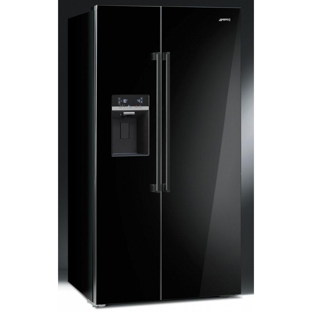 Smeg Sbs63ned American Fridge Freezer With Ice Amp Water