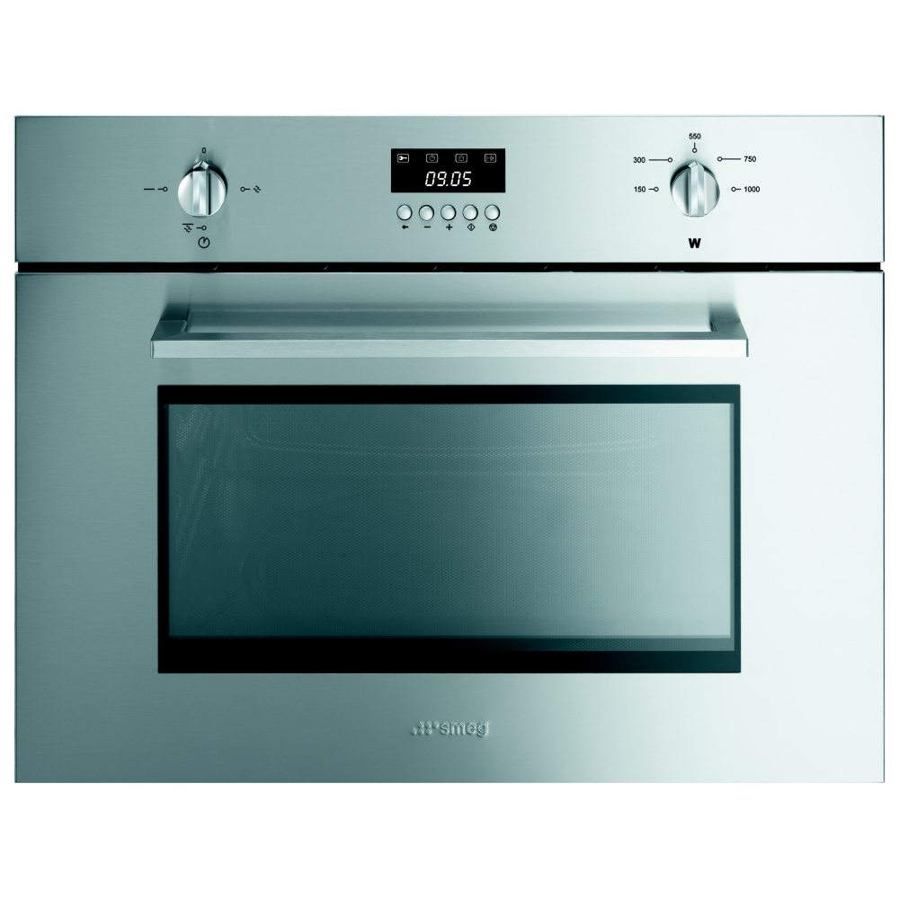 Smeg SC445MX 60cm Cucina Built In Microwave For Tall Housing ...