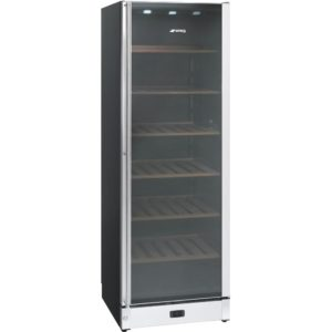 Smeg SCV115A 60cm Freestanding Wine Cooler Right Hinged – STAINLESS STEEL