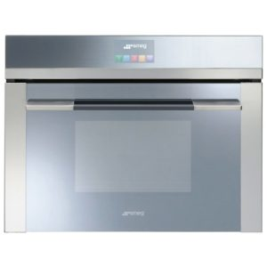 Smeg SF4140VC Compact Linea Steam Combination Oven - STAINLESS STEEL