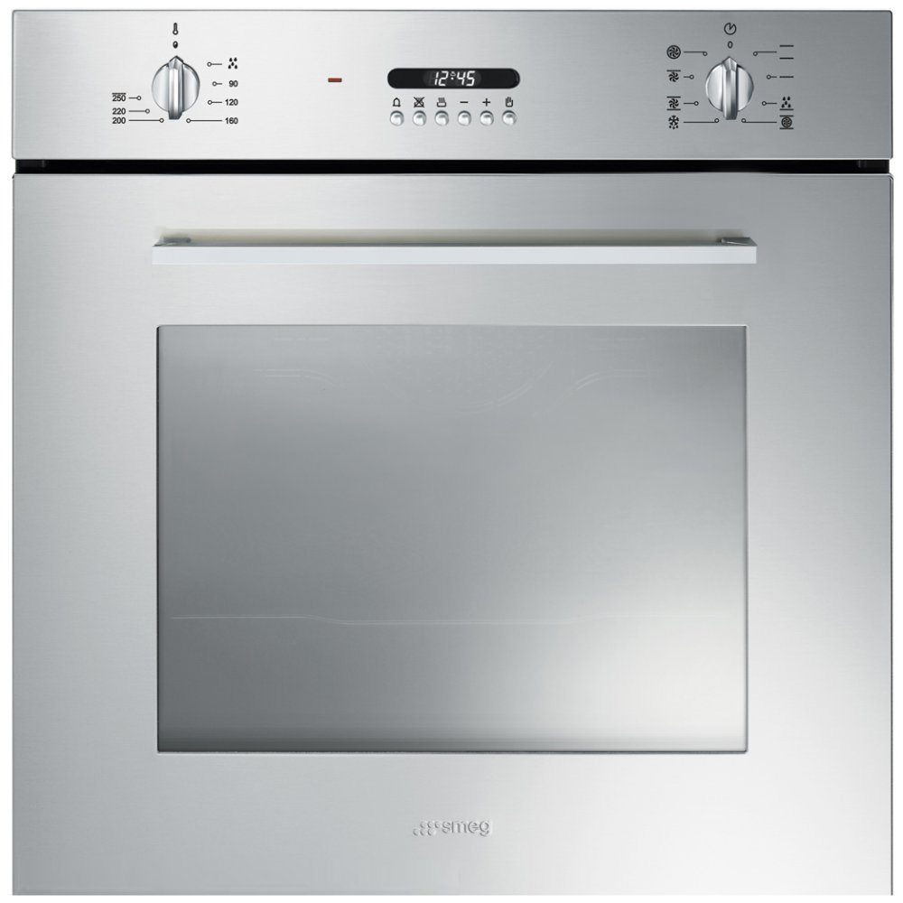 Smeg SF478X Cucina Built In Single Oven - STAINLESS STEEL ...