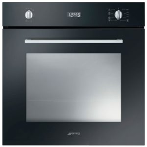 Smeg SF485N Cucina Built In Single Oven – BLACK