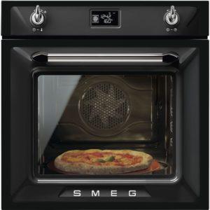 Smeg SF6922NPZE1 Victoria Built In Single Oven – BLACK
