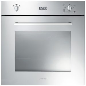 Smeg SFP485X Cucina Pyrolytic Multifunction Single Oven – STAINLESS STEEL