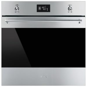 Smeg SFP6390XE Classic Multifunction Pyrolytic Single Oven - STAINLESS STEEL