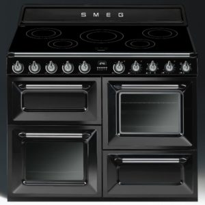 Smeg TR4110IBL 110cm Victoria Induction Range Cooker – BLACK
