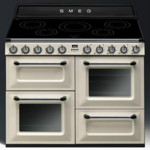 Smeg TR4110IP 110cm Victoria Induction Range Cooker - CREAM