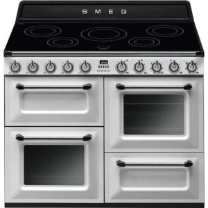 Smeg TR4110IWH 110cm Victoria Induction Range Cooker – WHITE