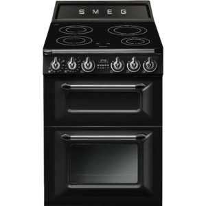Smeg TR62IBL 60cm Victoria Freestanding Induction Cooker – BLACK