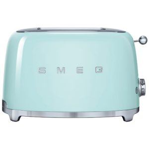 Smeg TSF01SSUK Retro 2 Slice Toaster – CHROME