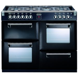 Stoves RICHMOND 1000GTBLK 0197 Richmond 100cm Gas Range Cooker - BLACK