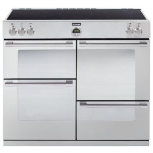 Stoves STERLING 1000EISTA 1656 Sterling 100cm Induction Range Cooker - STAINLESS STEEL