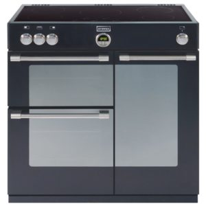 Stoves STERLING 900EIBLK 1655 Sterling 90cm Induction Range Cooker - BLACK