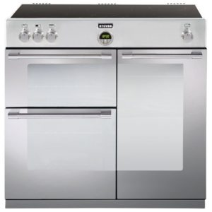 Stoves STERLING 900EISTA 1654 Sterling 90cm Induction Range Cooker - STAINLESS STEEL