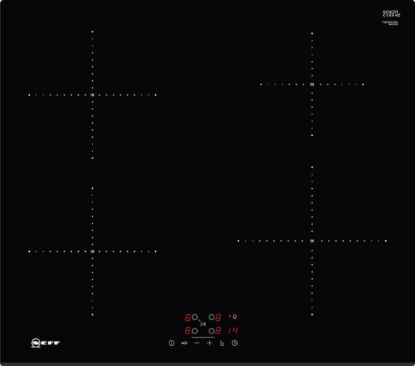 Neff T36fb41x0g 60cm Frameless Induction Hob 13 Amp