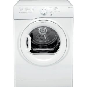 Hotpoint TVFS73BGP 7kg Aquarius Vented Tumble Dryer - WHITE