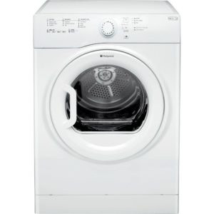 Hotpoint TVFS83CGP 8kg Aquarius Vented Tumble Dryer - WHITE