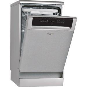 Whirlpool ADP502IXUK 45cm Freestanding Dishwasher – STAINLESS STEEL - STAINLESS STEEL
