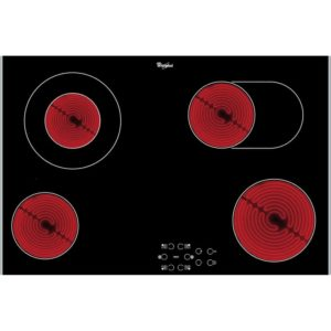 Whirlpool AKT8360LX 77cm 4 Zone Ceramic Hob – STAINLESS STEEL