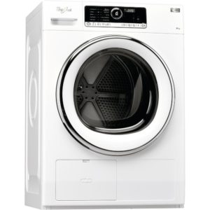 Whirlpool HSCX90423 9kg Supreme Care Heat Pump Condenser Tumble Dryer - WHITE