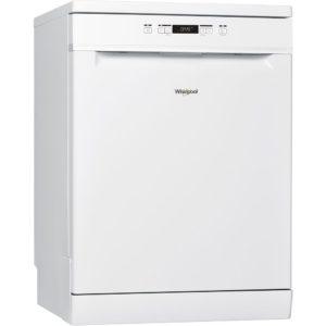 Whirlpool WFC3B19UK 60cm Freestanding Dishwasher – WHITE