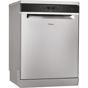 Whirlpool WFC3C24PXUK 60cm Freestanding Dishwasher - STAINLESS STEEL