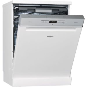 Whirlpool WFO3P33DLUK 60cm Freestanding Dishwasher – WHITE