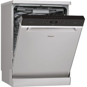 Whirlpool WFO3P33DLXUK 60cm Freestanding Dishwasher – STAINLESS STEEL