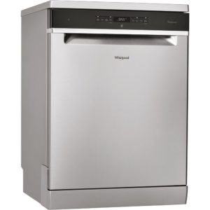 Whirlpool WFO3T3236PXUK 60cm Freestanding Dishwasher – STAINLESS STEEL