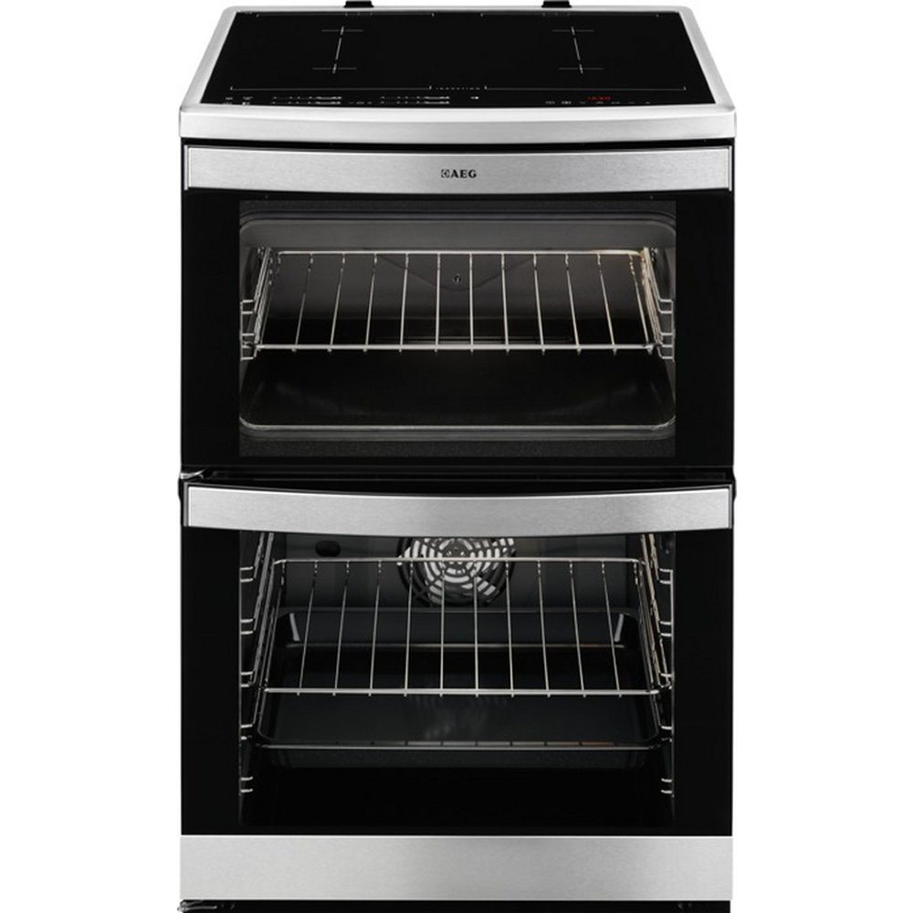 AEG 49176IW-MN 60cm Freestanding Electric Induction Cooker ...