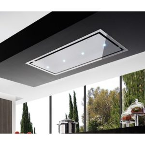 Air Uno OTELLO SS STAINLESS STEEL 90cm Otello Ceiling Hood - STAINLESS STEEL