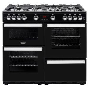 Belling COOKCENTRE 100GBLK 4089 100cm Gas Range Cooker – BLACK